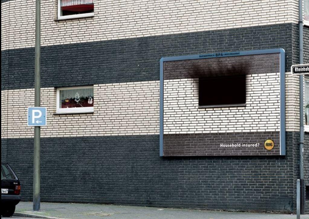 חלון בוער פרסומת לביטוח הכפלה